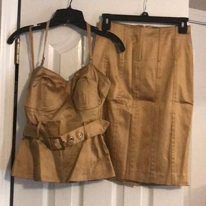 Top and skirts matching set Brand Arden